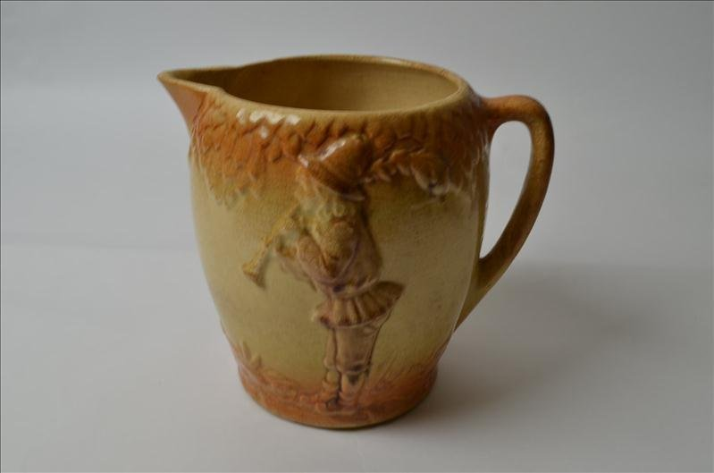 4: Early Roseville Pottery Pitcher - 2