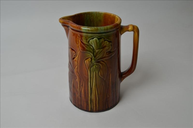 6: Majolica Pitcher
