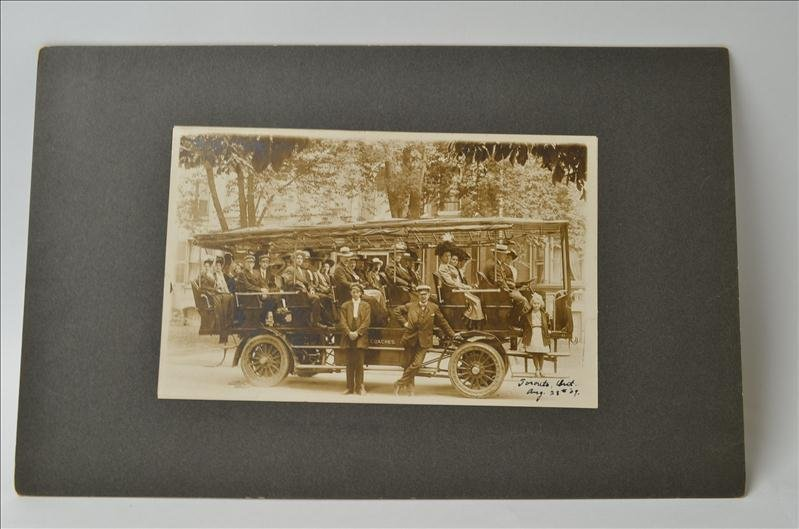 8: Early Victorian Coaches/Bus Photograph