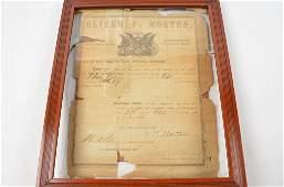 Civil War Enlistment Paper