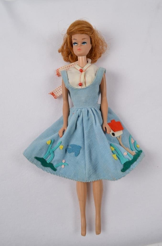1958 Barbie Doll in Original Clothes