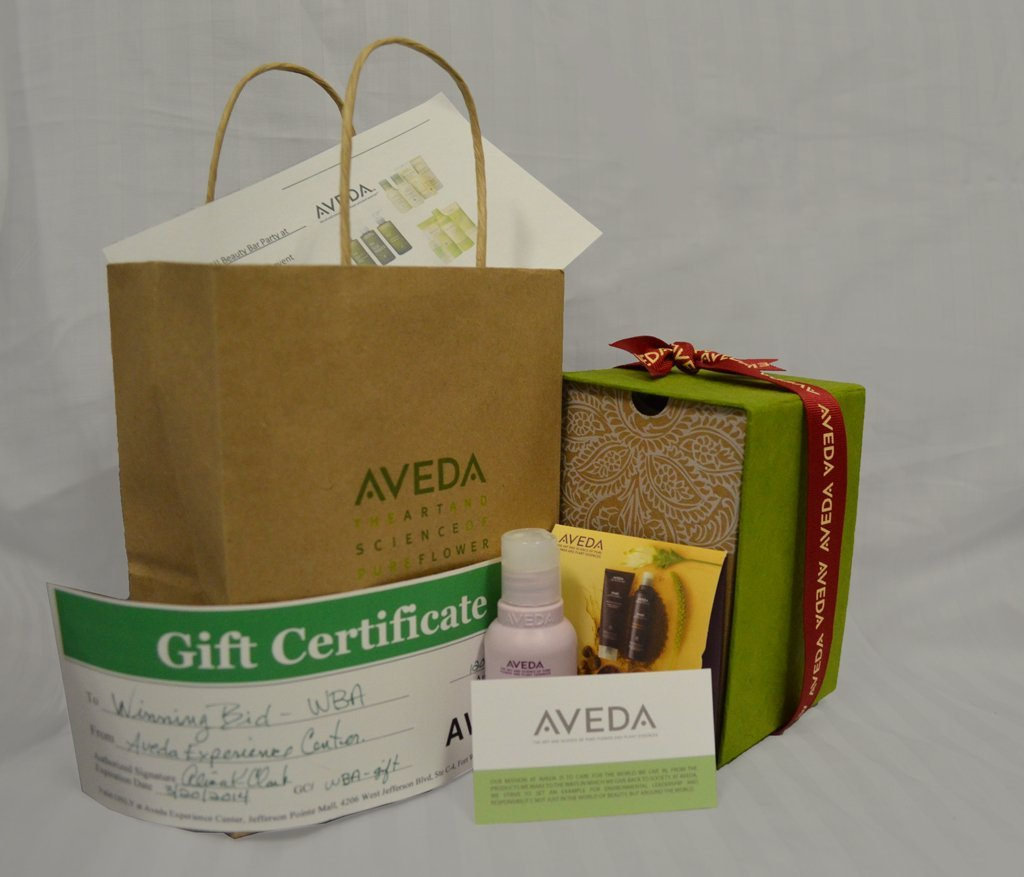 Aveda Experience Center Package - $120 Gift Certificate