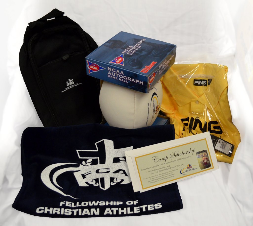 FCA Package with an Anthony Munoz Autographed Football