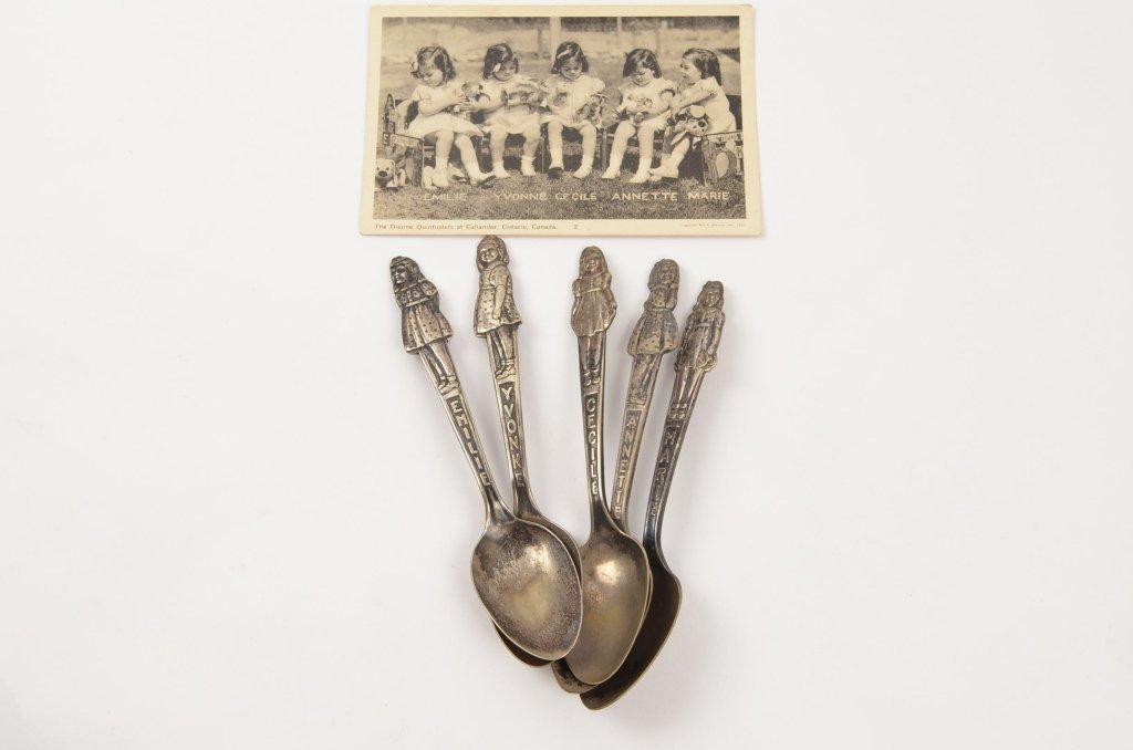 Dionne Quintuplets Souvenir Spoons