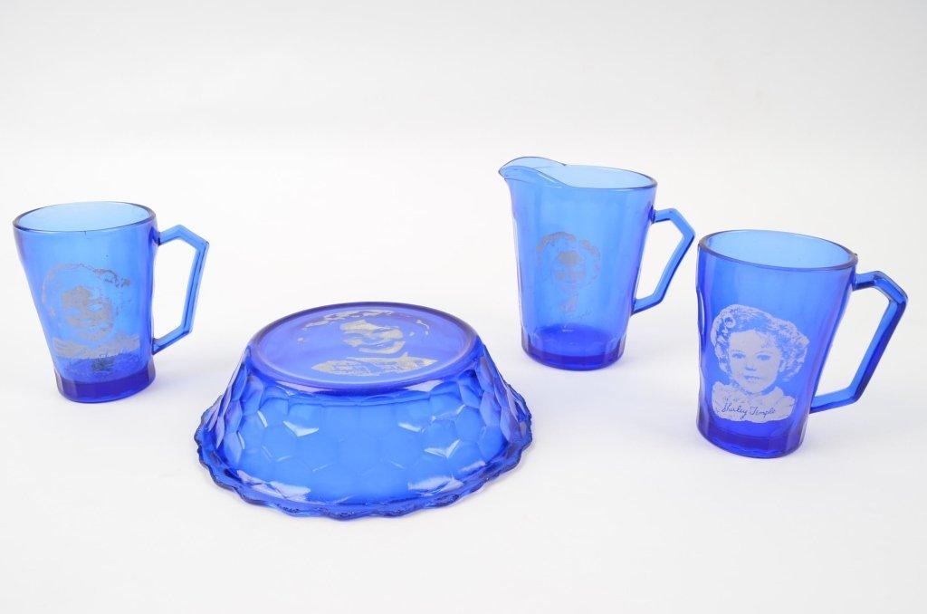 Shirley Temple Glassware