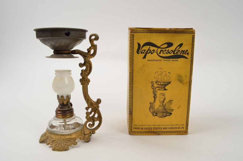Cresolene Vapor Lamp w/ original box