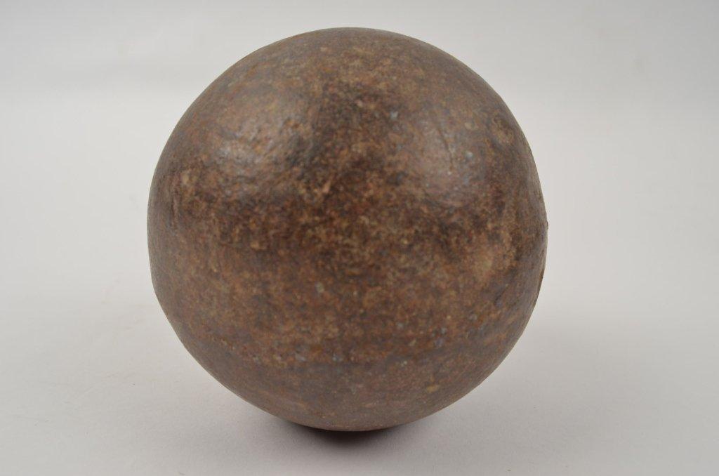"4.5"" Diameter Iron Cannonball"