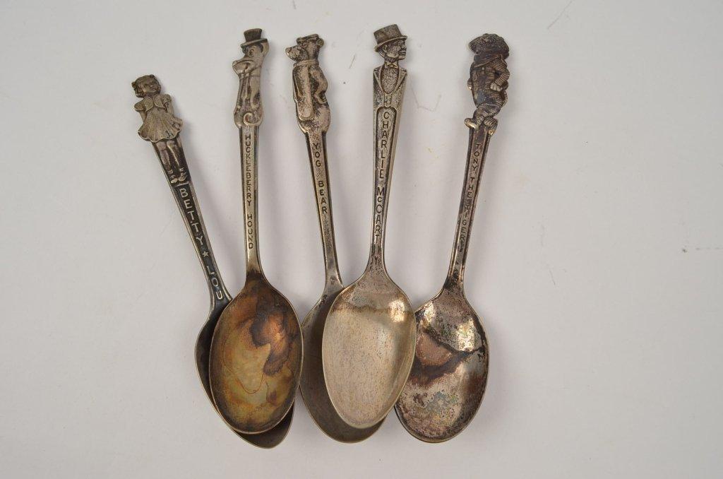 Souvenir Character Spoons