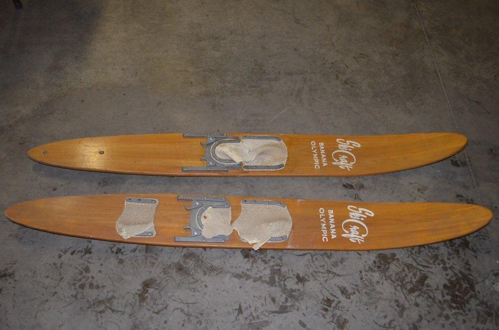 Ski Craft Wooden Water Skis