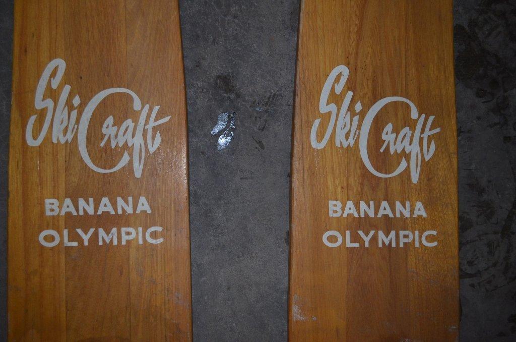 Ski Craft Wooden Water Skis - 2