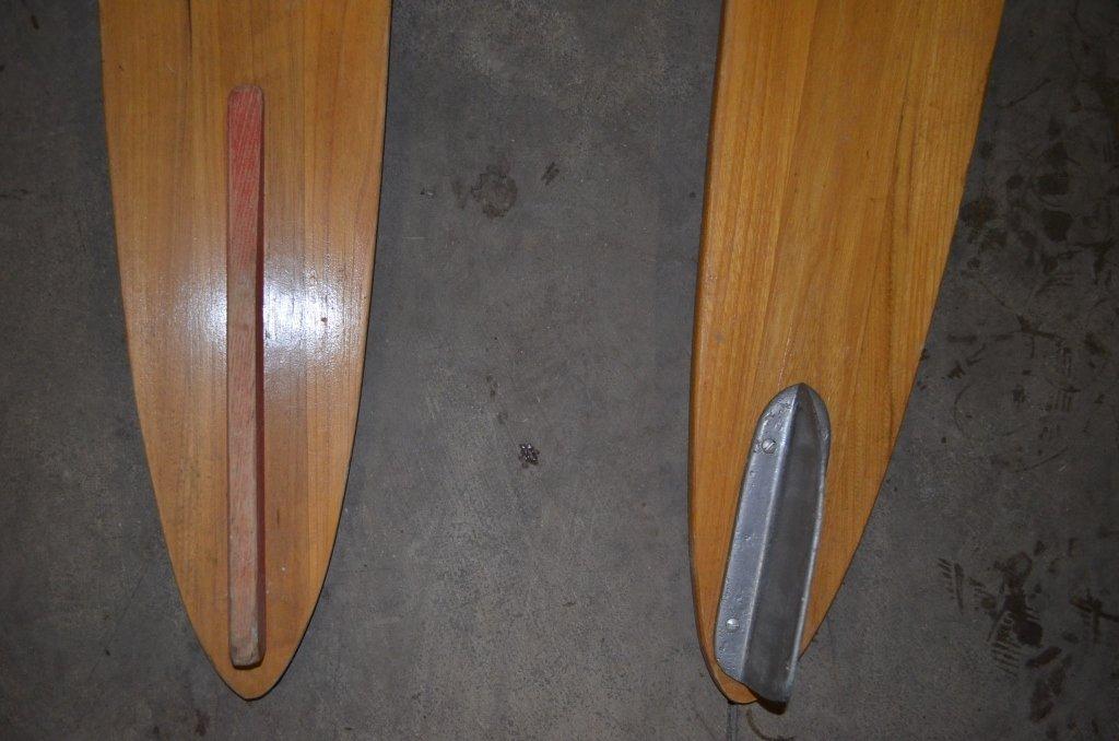 Ski Craft Wooden Water Skis - 4
