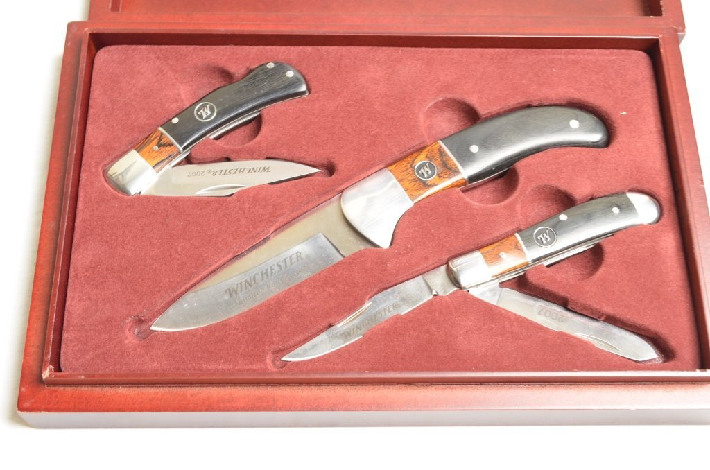 Winchester Limited Edition 2007 Knife Set - 2