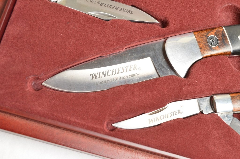 Winchester Limited Edition 2007 Knife Set - 3
