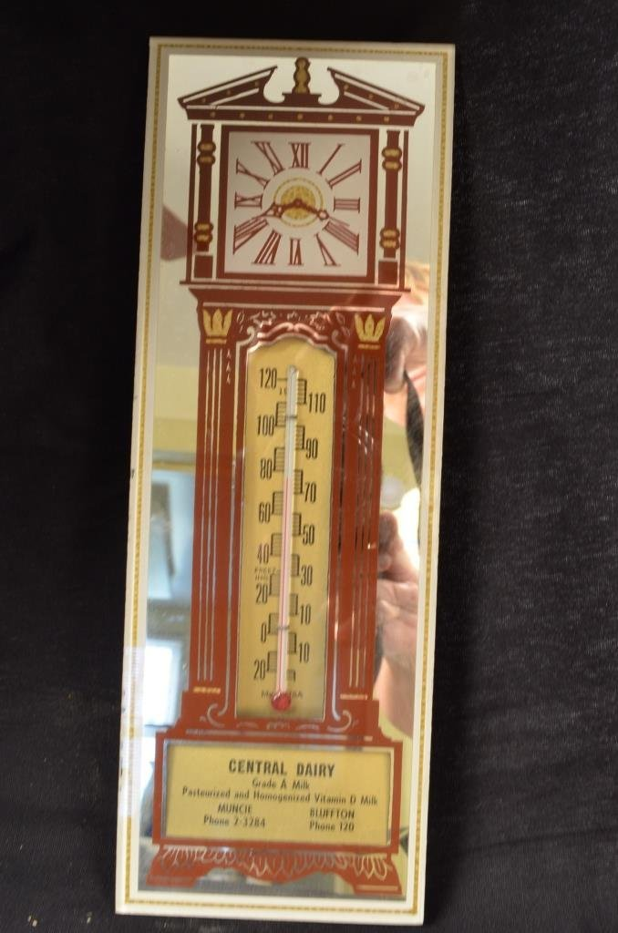 Central Dairy Advertising Thermometer