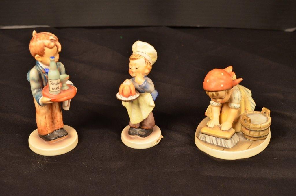 (3) Hummel Figurines