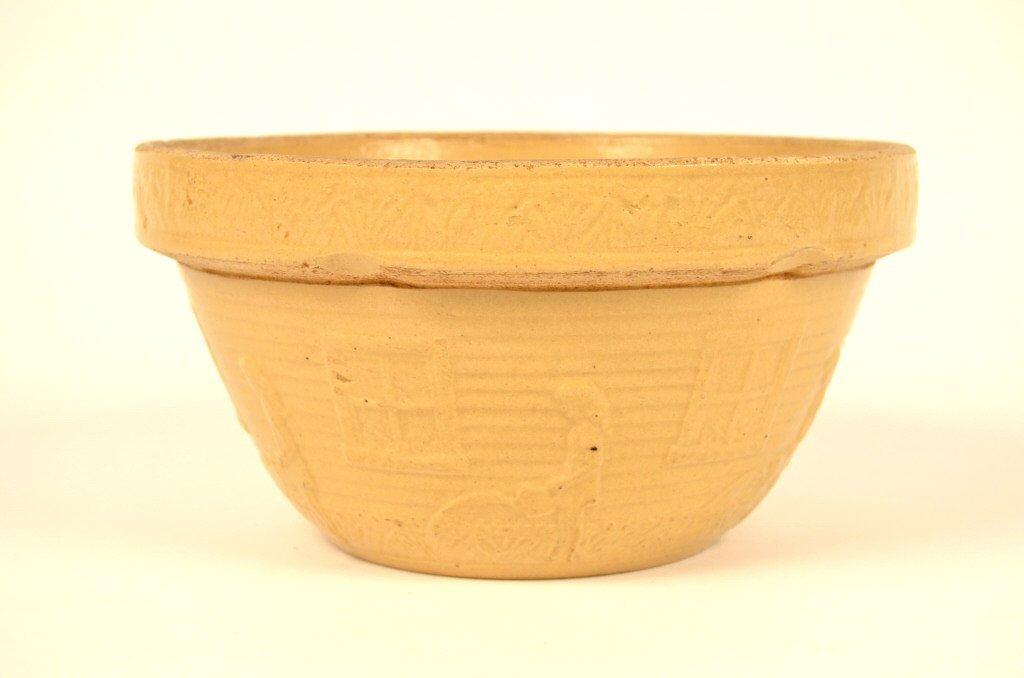 Large Yellow Ware Bowl