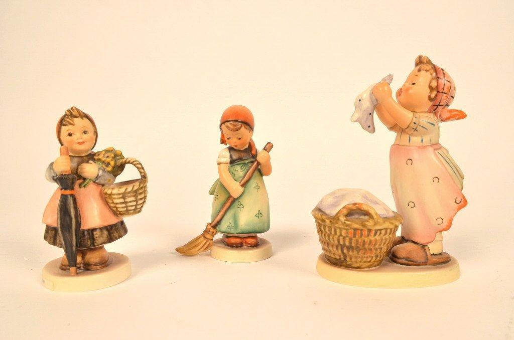 (3) Hummel / Goebel Figurines
