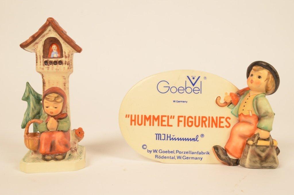 Pair of Hummel Goebel Figurines