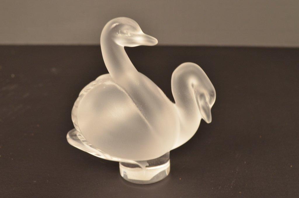 Lalique Swan