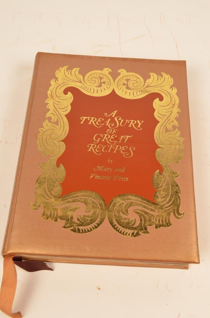 """""""A Treasury of Great Recipes"""" 1965 Hardcover Book"""