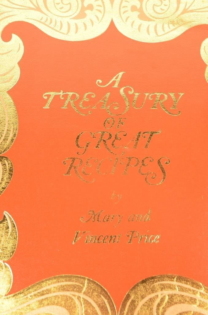 """""""A Treasury of Great Recipes"""" 1965 Hardcover Book - 2"""