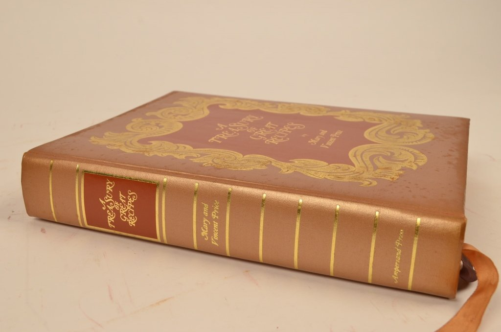 """""""A Treasury of Great Recipes"""" 1965 Hardcover Book - 3"""