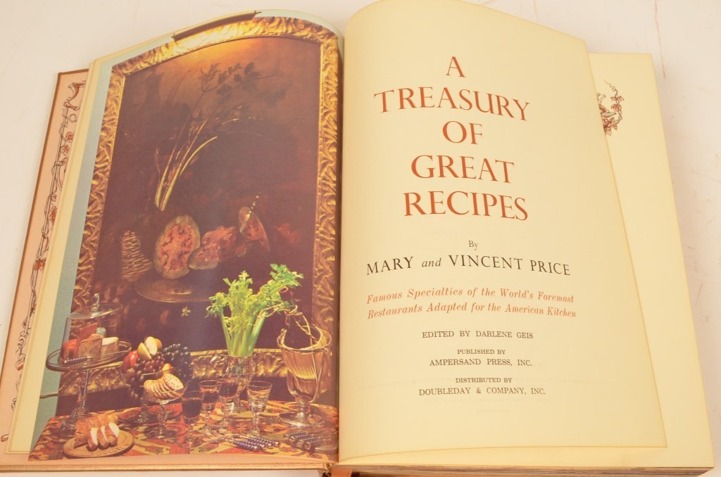 """""""A Treasury of Great Recipes"""" 1965 Hardcover Book - 4"""