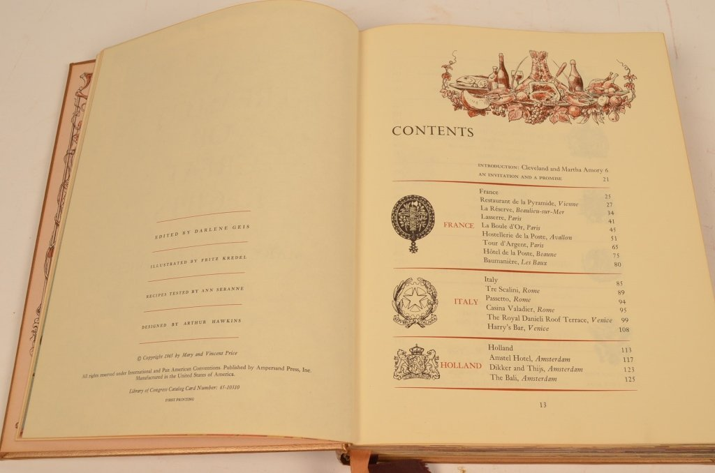 """""""A Treasury of Great Recipes"""" 1965 Hardcover Book - 5"""