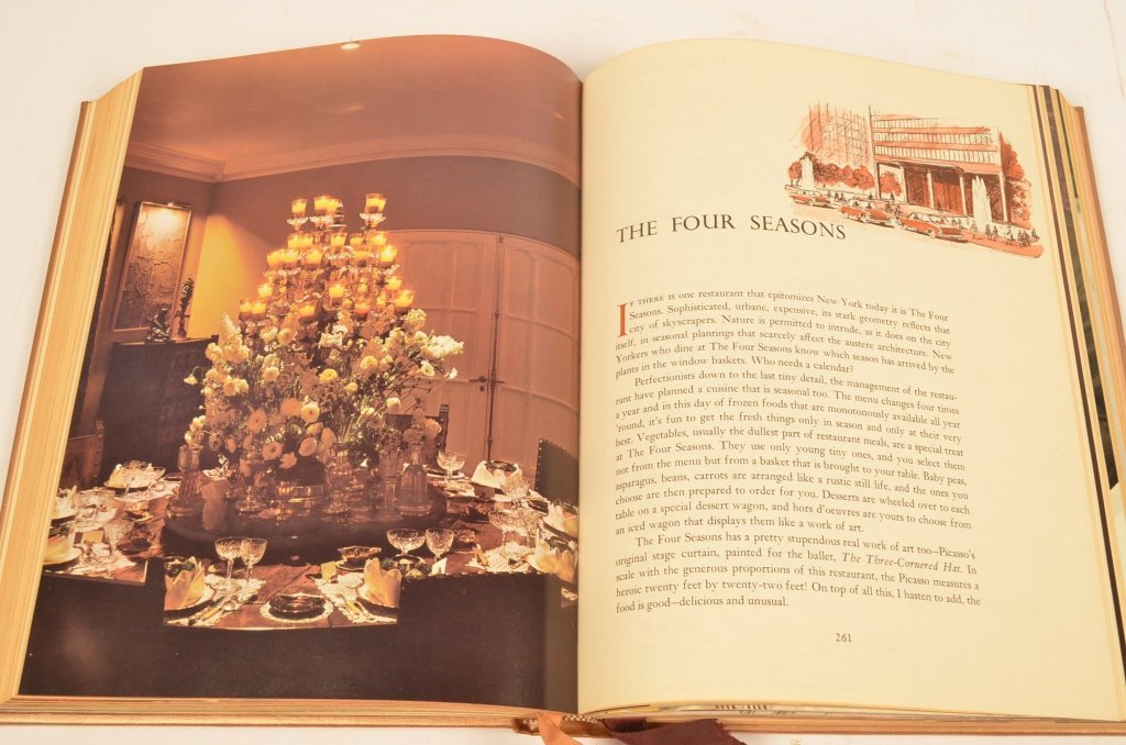 """""""A Treasury of Great Recipes"""" 1965 Hardcover Book - 7"""