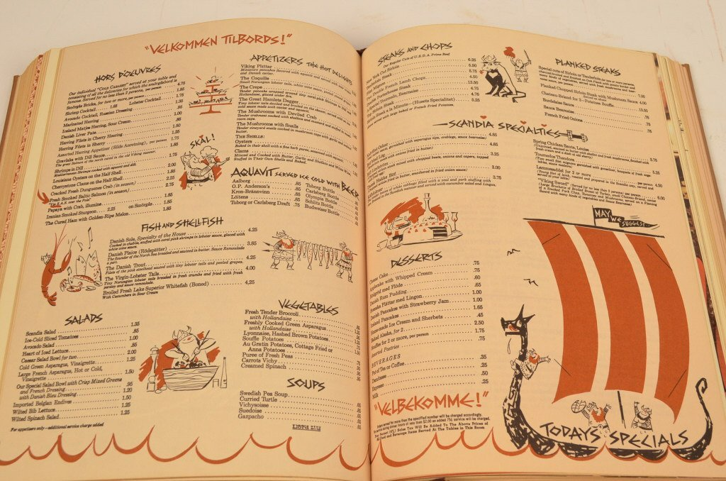 """""""A Treasury of Great Recipes"""" 1965 Hardcover Book - 8"""