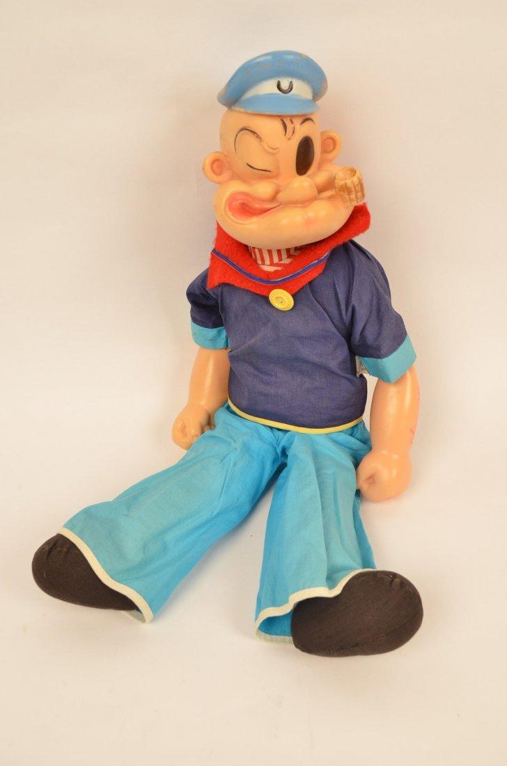 Vintage Popeye The Sailer Doll