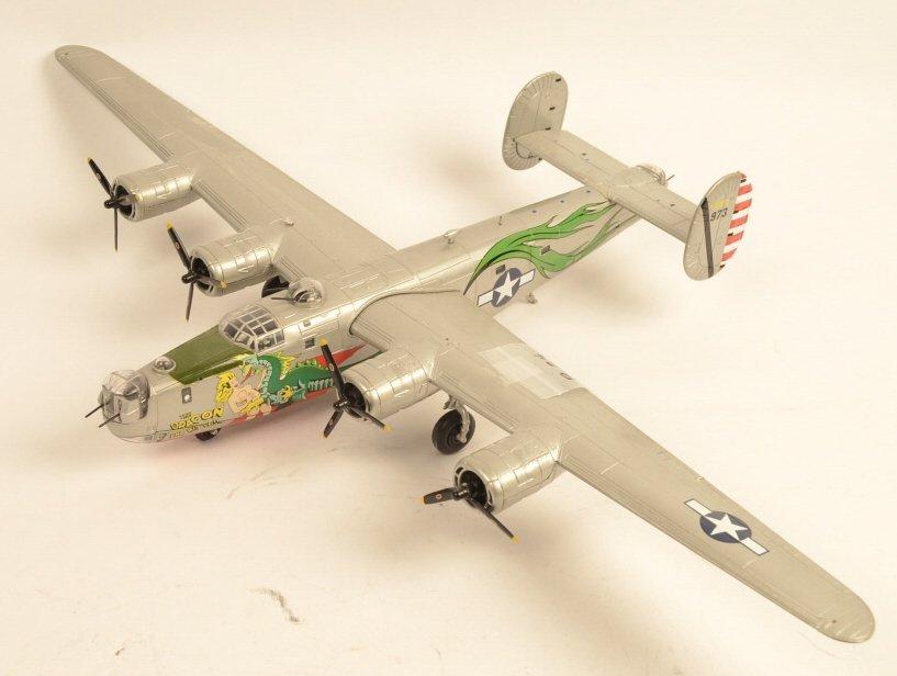 Bomber B-24 Die Cast Model Plane