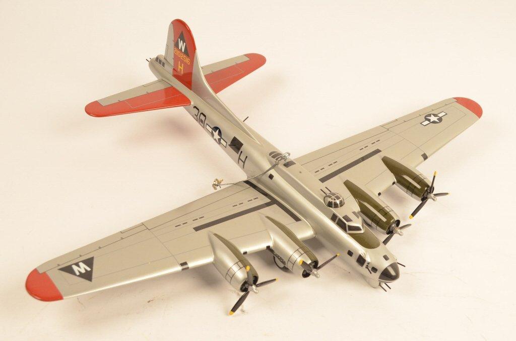 30H Bomber Die Cast Aluminum Overcast Plane