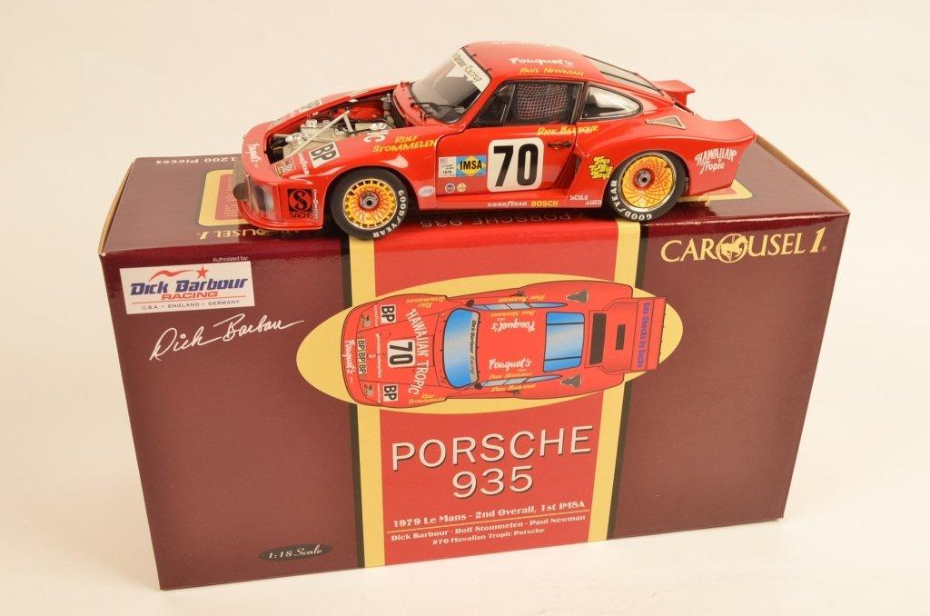 Carousel Porsche 935 1:18 Scale Die-Cast Model Car