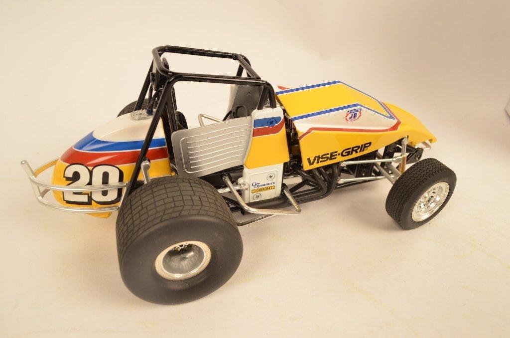 (2) Sprint Cars 1:18 Scale Die Cast Models. - 2