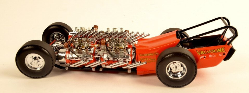 GMP Tommy Ivo Dragster 1:18 Scale Die Cast Metal