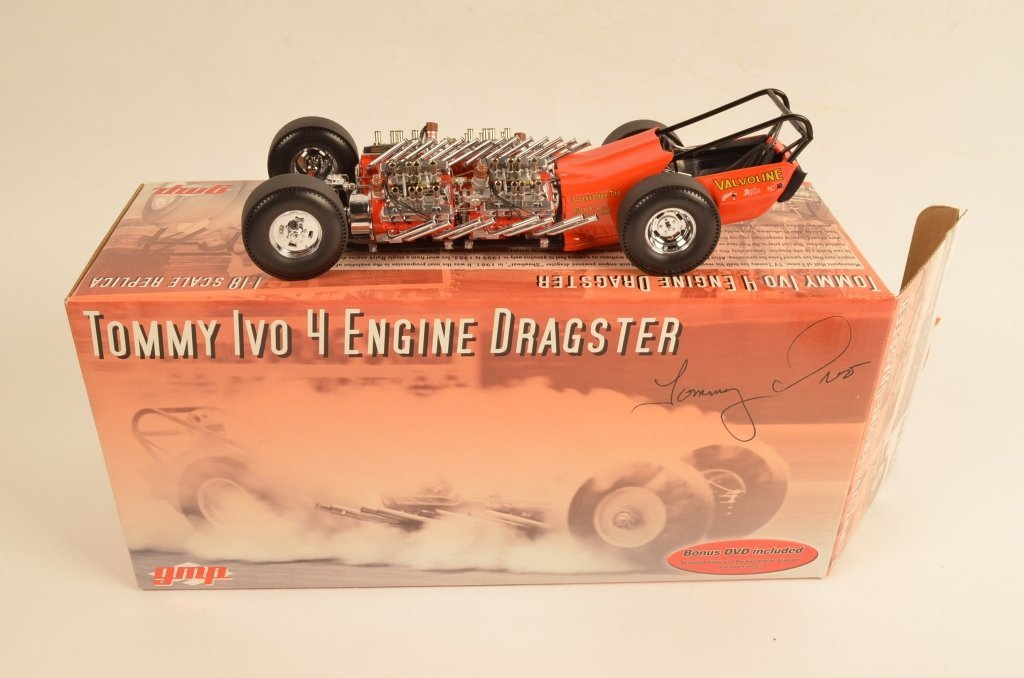 GMP Tommy Ivo Dragster 1:18 Scale Die Cast Metal - 3