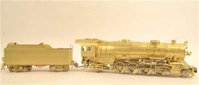 Overland Models USRA Light 2-8-2 Brass Locomotive