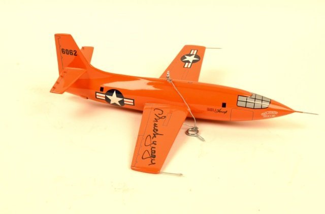 """""""Glamorous Glennis"""" 6062 Signed by Chuck Yeager"""