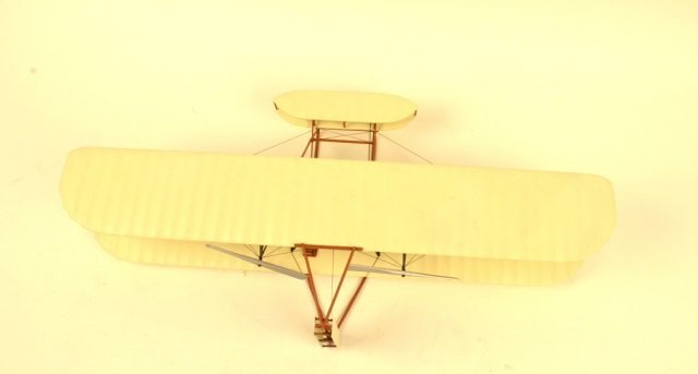 Highly Detailed Model Bi-Plane Collectible
