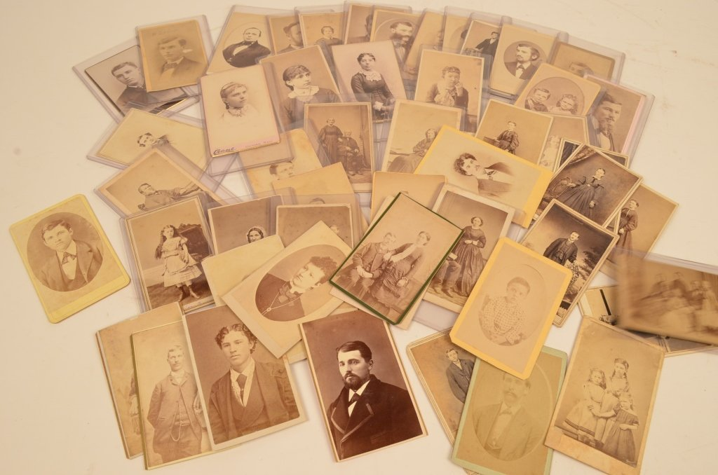 (50) CDV's Early Photographs