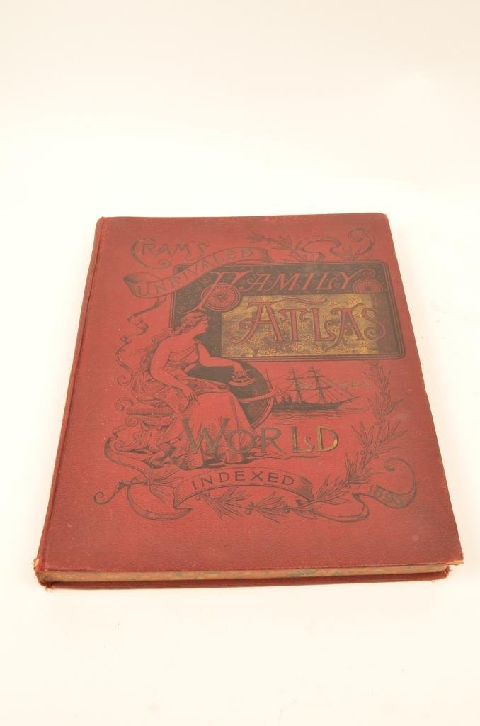 Cram's Unrivaled Hamily Atlas of The World Indexed