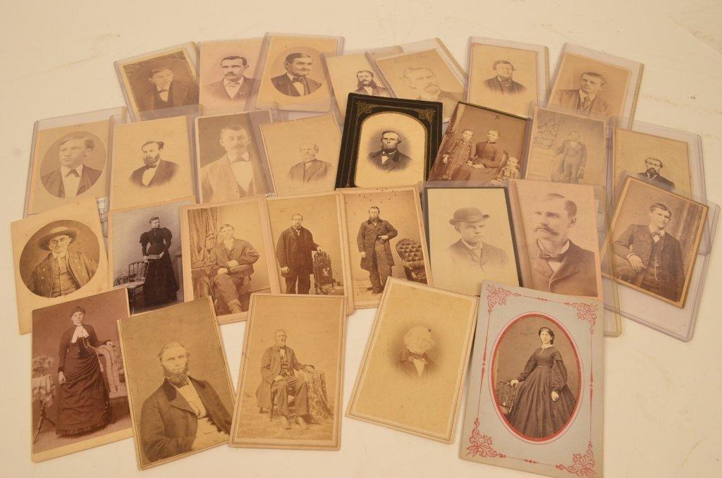 (27) CDV's Civil War Era Early Photographs