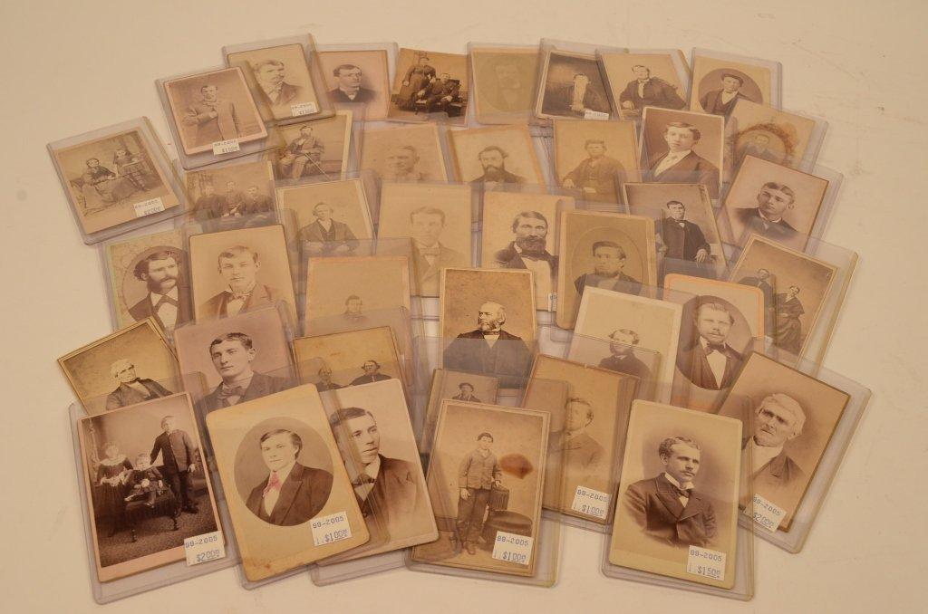 (40) CDV's Civil War Era Early Photographs
