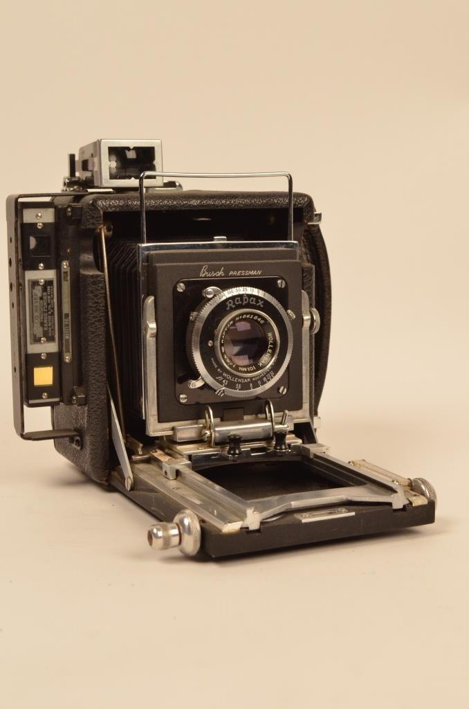 Busch Pressman Model C Vintage Camera