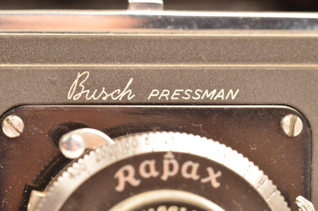 Busch Pressman Model C Vintage Camera - 3