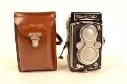 Vintage Rolleiflex Camera