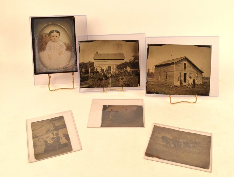 Full Plate & 1/2 Plate Tintypes