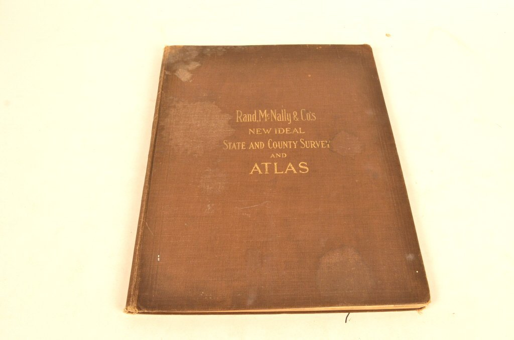 Rand McNally & Co's State & Counry Survey Atlas