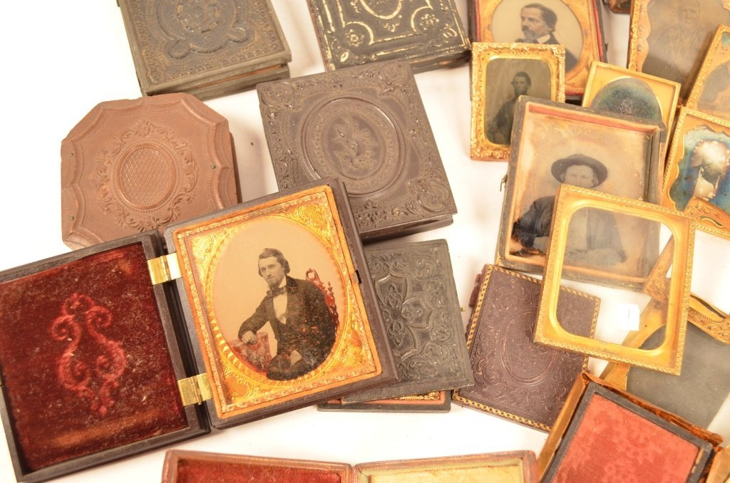 Daguerreotype Cases Parts and Pieces - 2